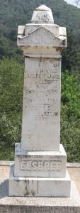 Elsbree Memorial, Sonora
